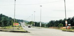 Impian Emas Highway Street Lighting, Johor